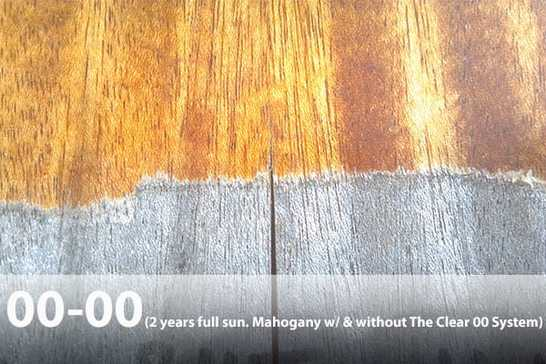Mahogany wood finish best