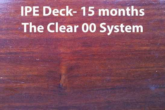 best deck stain for ipe